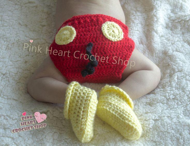 PinkHeartCrochetShoP