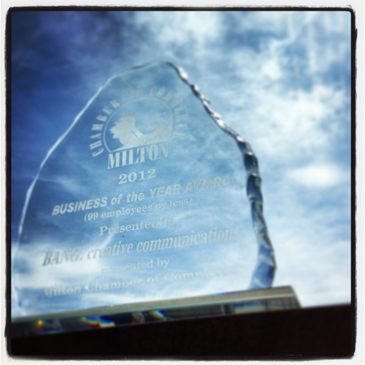 Award for business of the year (99 employees or less)
