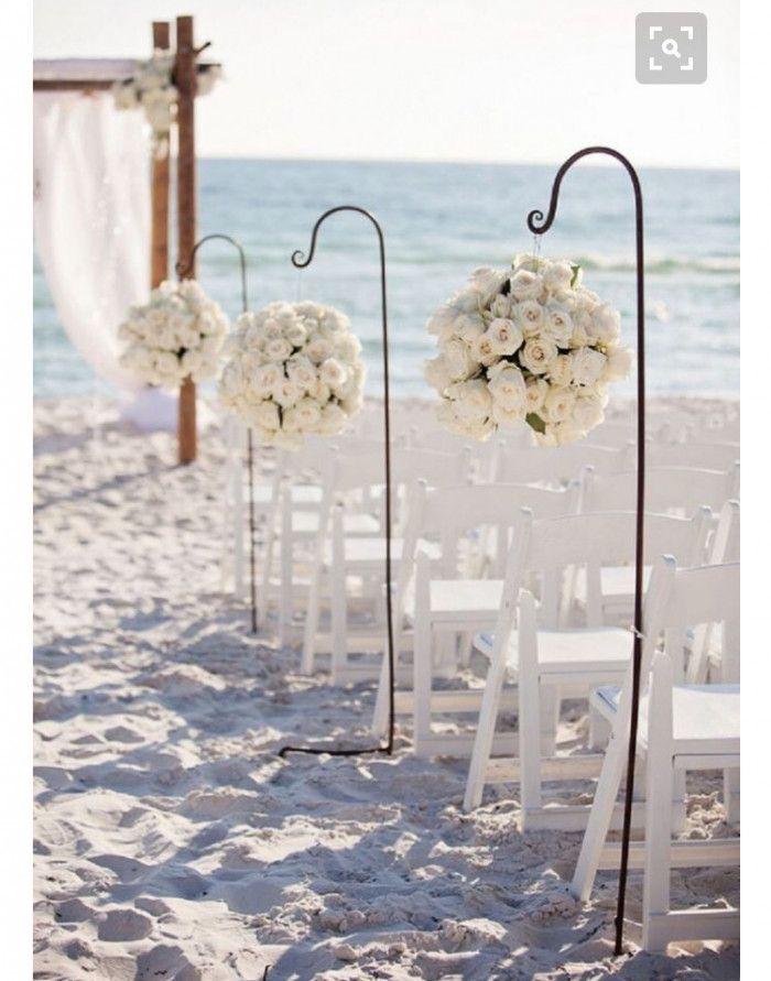 Ideias de decoração para um casamento na praia