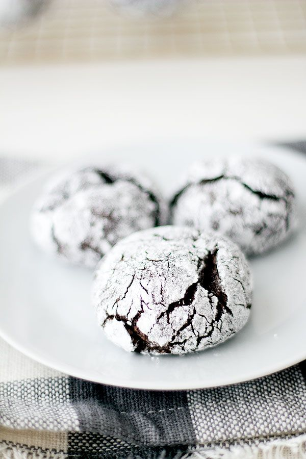 I hope you are feeling as festive as I am, and if you're not these spiced chocolate crinkle cookies will do the trick Can I just tell you, these crinkle cookies are the single best cookies I have ever made. Ever, and perhaps the best cookies I have ever eaten. I kid you not. Crinkle …