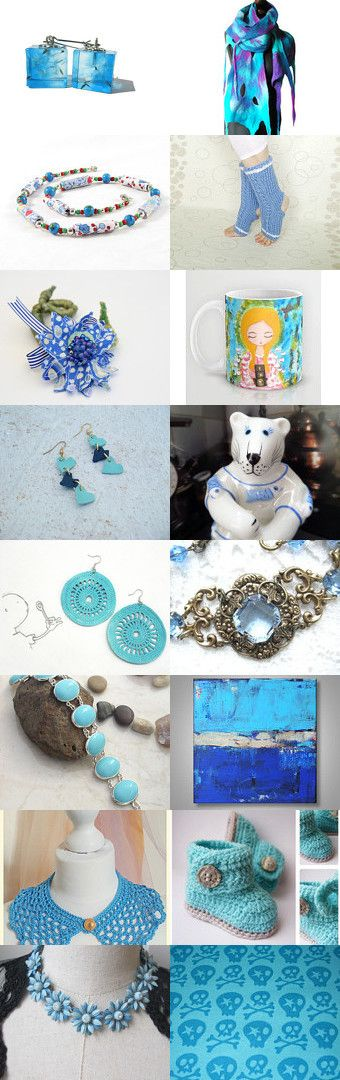 Out of the Blue by Gabbie on Etsy