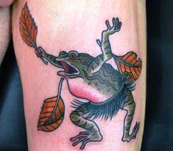 20 japanische Tattoo Frosch – 40 Frosch Tattoos
