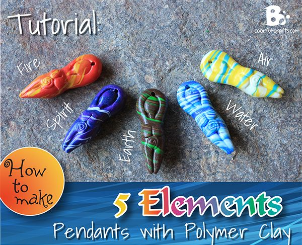 The Theory of Elements dates back to ancient times. Since then the concept was embraced and adapted by many cultural circles and different philosophical doctrines. In paganism they are connected to attributes and character traits. Elements often play a prominent role in rituals, meditations and recipies or are used as affirming symbols. This tutorial is part of a larger series. If you want to know how to make a basic goddess pendant without a mold, check out this tutorial. And here is the…