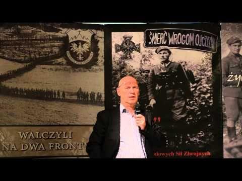 Żołnierze Wyklęci Leszek Żebrowski Chicago 11 09 2014 - YouTube