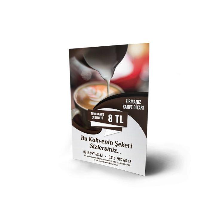 Kahve & İçecek Broşür Baskı