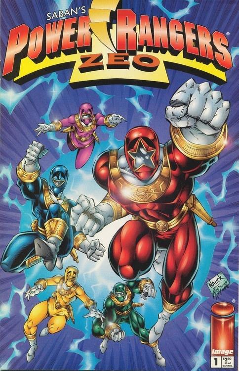 Power Rangers Zeo Comic Book