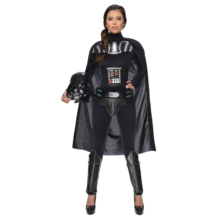 I would loooove to have this costume! Halloween it's my favorite holiday of the year! i always start to prepare and think what to be like 4 months earlier! Halloween Freak! please let me win!  Star Wars Darth Vader Female Adult Bodysuit | 805579 | 2013