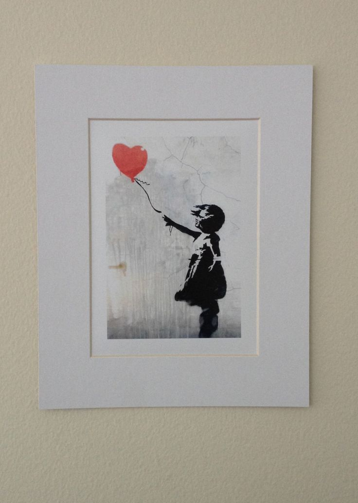 Banksy Poster Graffiti Art Girl with Red Heart Balloon Banksy Street Art Print Banksy Famous Poster by NewYorkReaction on Etsy https://www.etsy.com/listing/183226753/banksy-poster-graffiti-art-girl-with-red