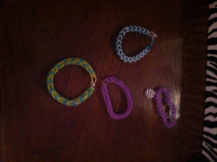 Ruberband bracelets
