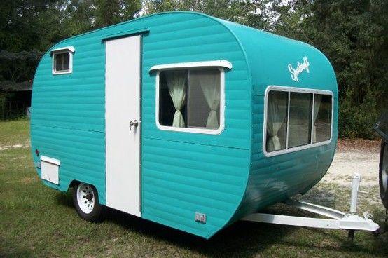 25 best Small campers images on Pinterest | Vintage ...