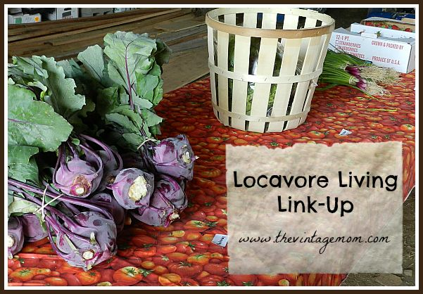 Summer CSA Adventures {Locavore Living Link-Up} May 29th, 2013