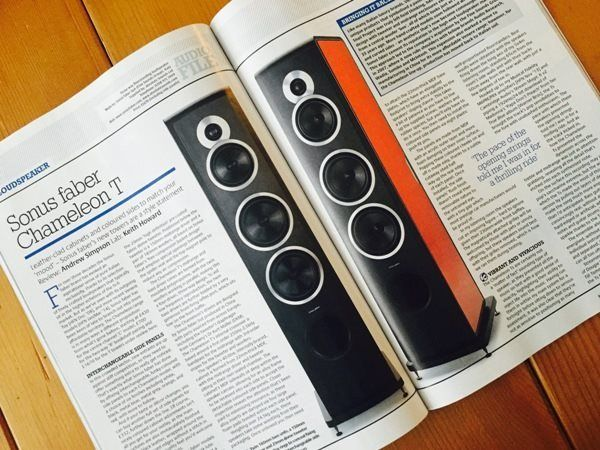 This #hifi #news #review about #sonusfaber Chameleon T makes us blush! Read more & enjoy!