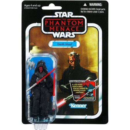Star Wars Vintage Collection 2012 Darth Maul Action Figure [Final Battle], Multicolor