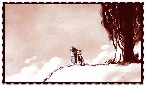 """""""FATHER AND DAUGTHER"""" VALORES: ACEPTACIÓN DE LA MUERTE. https://vimeo.com/album/2298055/video/13930699 Un padre y su hija inician un camino juntos. La hija acompaña a su padre hasta su final y camina su propia vida hasta que llega al mismo lugar que su padre, el fin de sus días."""