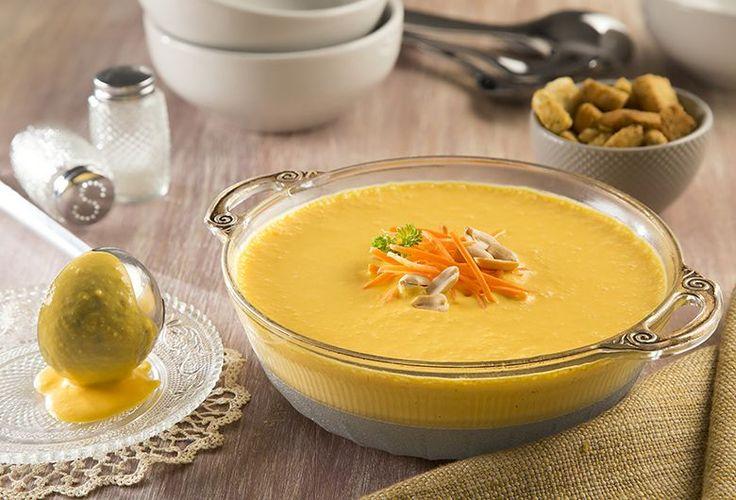 Prepara una deliciosa Crema de zanahoria y cacahuates Philadelphia con esta receta que tenemos para ti. ¡Tus platillos de ricos a deliciosos!