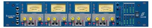 Focusrite ISA428 Pre Pack Neve Style 4 Channel Mic Preamp