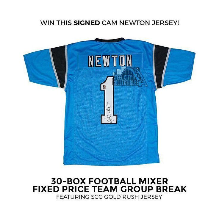 Breaking tonight 30-Box football mixer pick your team #groupbreak & #camnewton signed jersey #giveaway. Only 9 teams remain #panthers #browns #lions #texans #colts #patriots #saints #bucs check out the break and all the boxes at steelcitycollectibles.com #thehobby #footballbreaks #footballcards