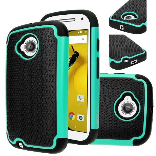 Amazon.com: Moto E (2nd GEN.) Case, Motorola E (2nd GEN.) case, E LV Motorola Moto E / E2 ( SECOND GENERATION) (2015) Case, Full Body Hybrid Armor Protection Defender Case Cover - Dual Layer Armor Protective Case Cover for Motorola Moto E - BLACK: Cell Phones & Accessories