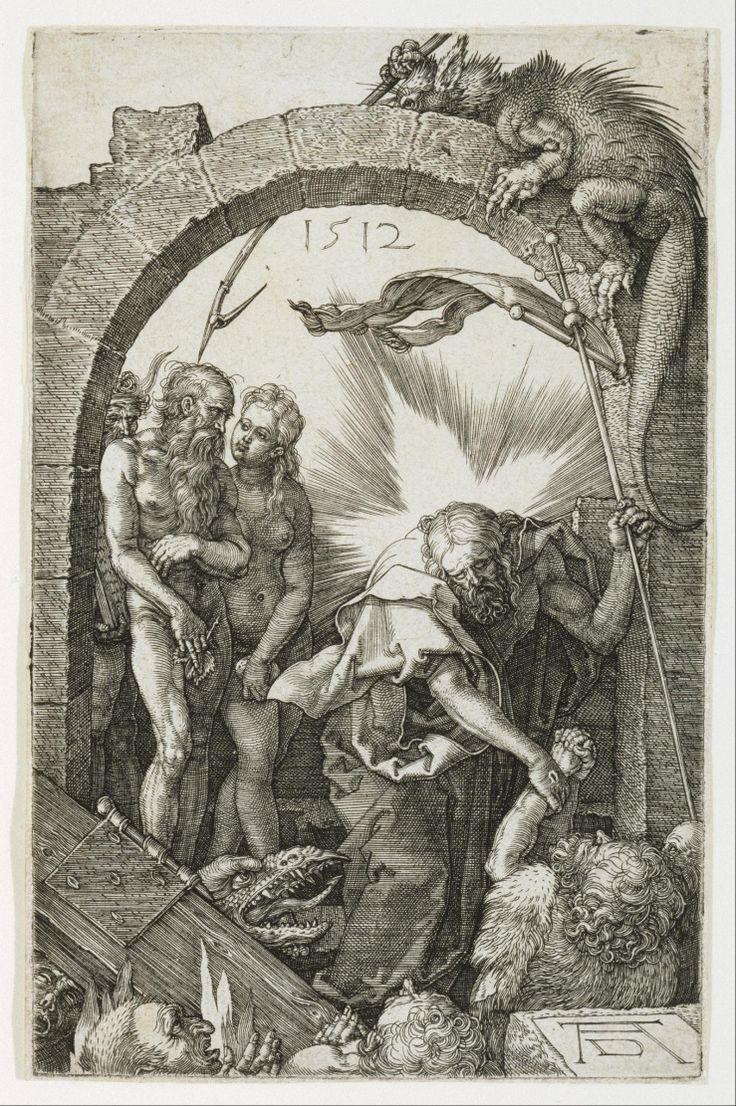 Albrecht Dürer - Christ in Limbo, etching