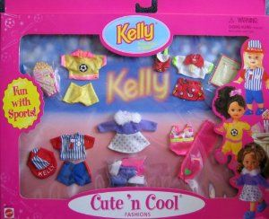 Barbie Kelly Cute N Cool Fashions Fun With Sports 1998 Arcotoys