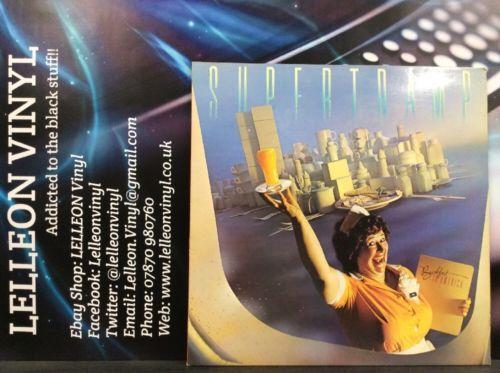 Supertramp Breakfast In America LP Album Vinyl Record SP-3708 Rock Pop 70's Music:Records:Albums/ LPs:Rock:Progressive