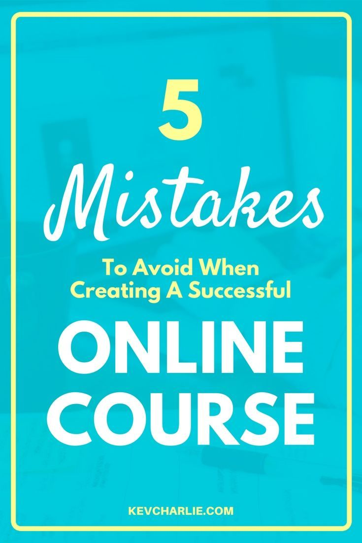 Do you feel like teaching? Be careful and don't make any of these 5 mistakes when creating your online course. Start teaching through webinars and courses. Kevin Charlie, entrepreneur.#onlinecourse#teachonline#makemoney