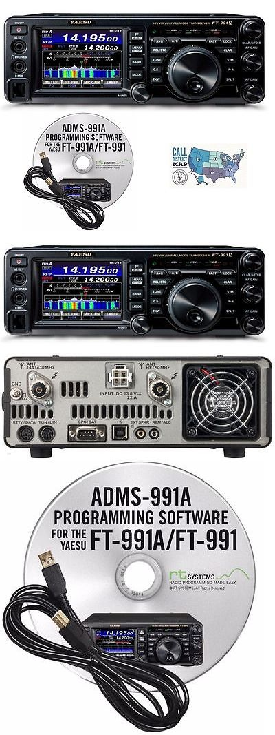 Ham Radio Transceivers: Yaesu Ft-991A Hf Vhf Uhf All Mode Radio W Rt Systems Prog. Software And Cable! -> BUY IT NOW ONLY: $1565.4 on eBay!