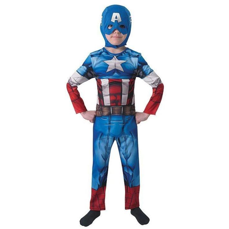 Kaptein Amerika kostyme til barn | Festmagasinet Standard