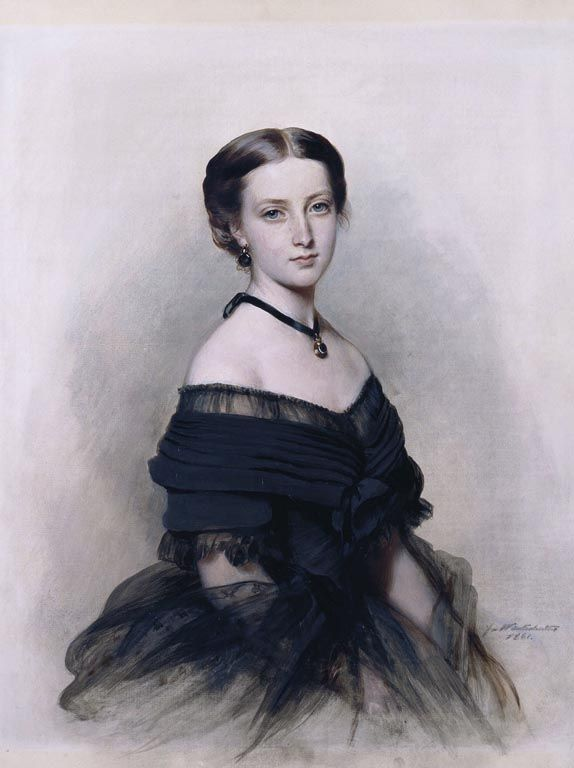 """Princess Helena (1846-1923)"", Franz Xaver Winterhalter; Royal Collection Trust 400761"