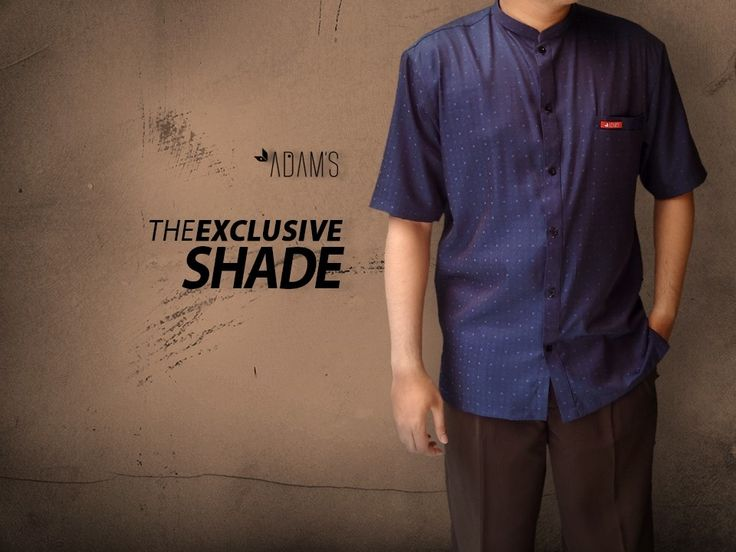 "Baju Muslim Pria / Baju Koko Modern | THE EXCLUSIVE SHADE | Detail : - Bahan Soft Dobby Denim, - Size : M, L, XL, - Limited Stock | IDR. 310.000 |Order : 081-220-495-777 / 745847A2 (Pin BB) | ""Anytime Will Look Different"""