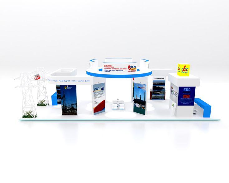 Desain Booth Stand Pameran Hari Listrik Nasional ke 69 – PT PLN (Persero)