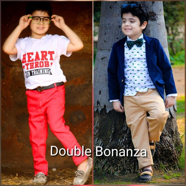 Double Bonanza Casual Formal Sets at Foreverkidz