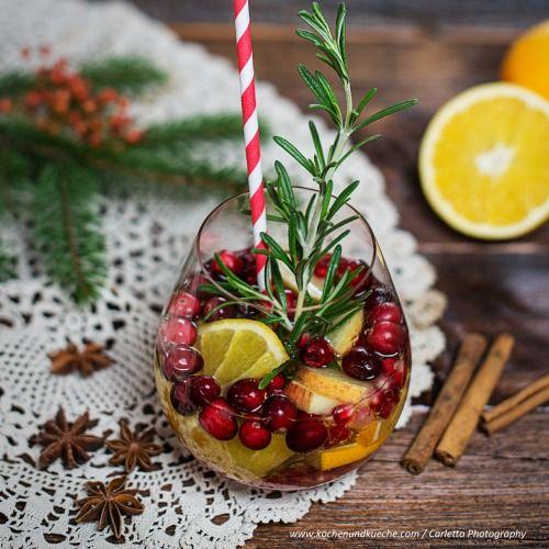 Weihnachts-Sangria