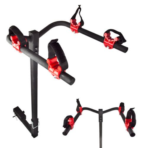 New 2 Bicycle Bike Rack Hitch Mount Carrier Car Truck SUV Swing Away Deluxe | eBay