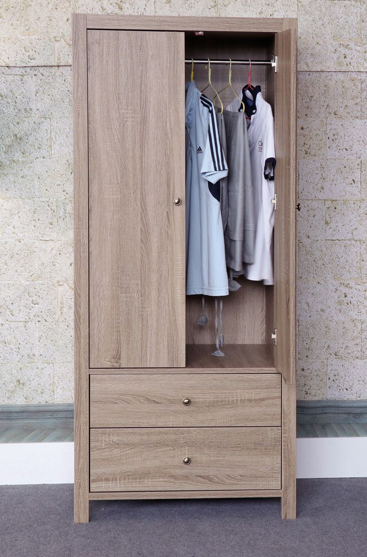 Beautiful Small Armoire for Clothes Hanging