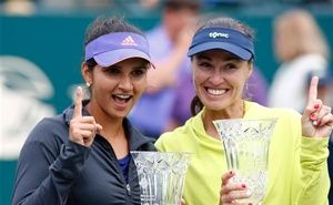 If it seems like half a lifetime since Martina Hingis was last in a Wimbledon final, that's because it is. Back in 1998, as a 17-year-old prodigy, she took the women's doubles crown, a year on from becoming the youngest singles champion in the tournament's history. Today, aged 34, she will walk out on Centre Court again to try to add to her titles, again in the women's doubles.