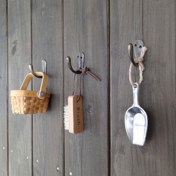 tree house フック| フックをアイアンにするだけでおしゃれに♪  #フック #アイアン #アンティーク