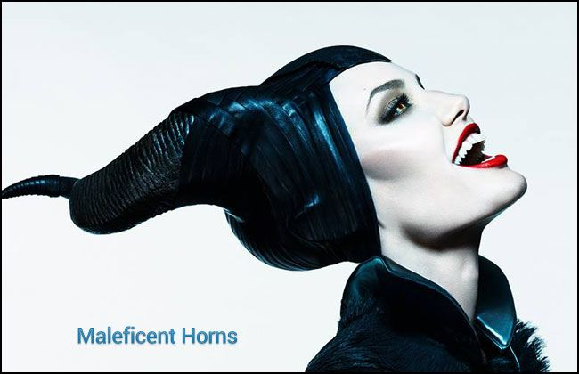 Maleficent's headpiece does look best in black. It's the color choice for evil villains and it's the color she wears in the latest movie. However, you could also make this in purple or a combination of purple and black which would work better for the older animated Sleeping Beauty.