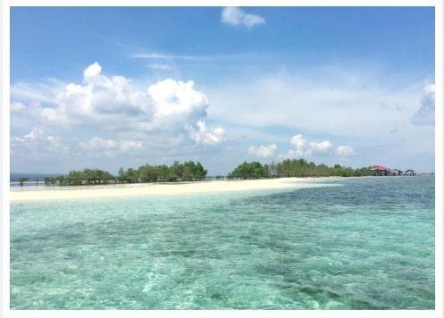 Vanishing Island, Samal, Davao del Norte, Philippines