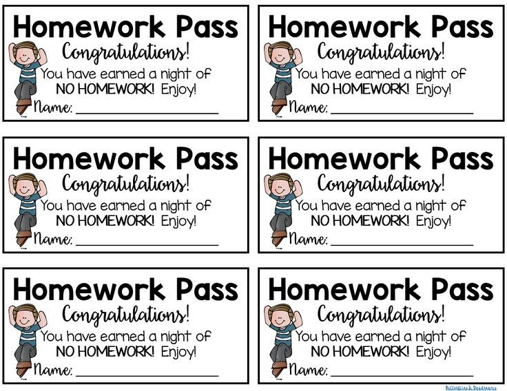 Best 25+ Homework pass ideas on Pinterest Student birthday gifts - free pass template