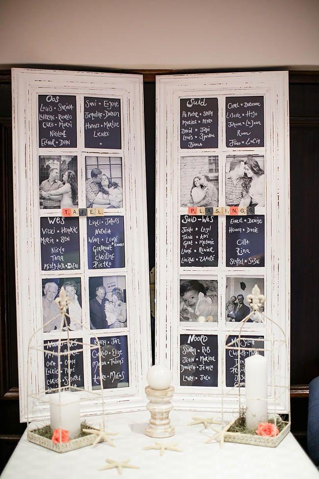 思い出写真と共に♡ <モノトーン・シンプルな結婚式エスコートカード・席札まとめ一覧>