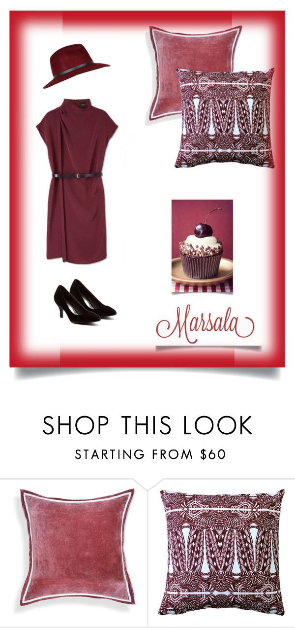 Mashala by feelseelive on Polyvore featuring Red Circle and Pillow Decor: