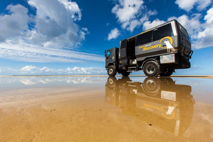 Visit Fraser Island from Noosa with The Discovery Group