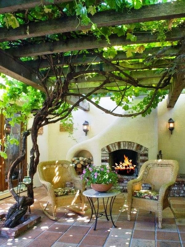 top 25+ best small covered patio ideas on pinterest | cover patio ... - Shaded Patio Ideas