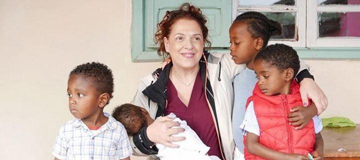 Ελένη Ράντου: Το αξέχαστο ταξίδι της στην Αφρική!