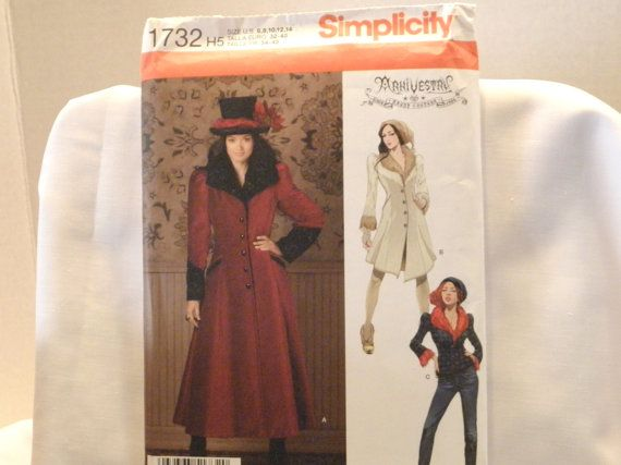 Simplicity 1732 Ladies Coat and Jacket new uncut size by ConnieJoe