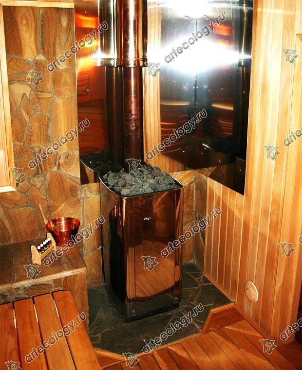 Зона отдыха. Материал оцилиндрованное бревно 260мм, лиственница. 2001г.