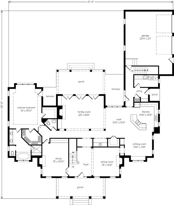 Briar rose house plan 28 images house plan luxury semi for Semi attached house plans