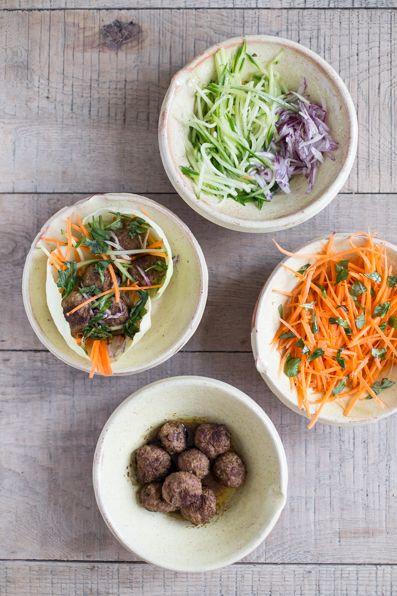 Gluten Free Thai Lamb Meatballs