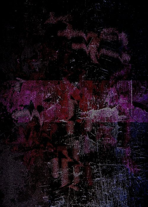 La Vie en Rose is Falling Apart Abstract digital art by mimulux patricia no